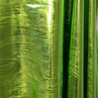 Lycra métallisé vert pomme