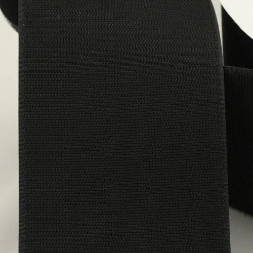 Rouleau 25m Auto-agrippant à coudre crochet 100 mm noir