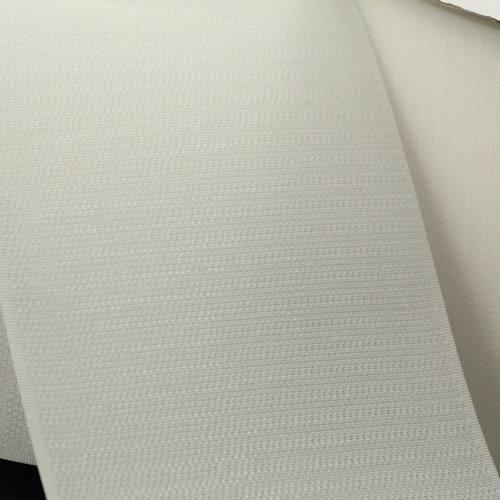 Rouleau 25m Auto-agrippant à coudre crochet 100 mm blanc