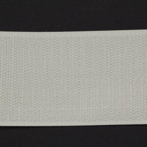 Rouleau 25m Auto-agrippant à coudre crochet 50 mm blanc