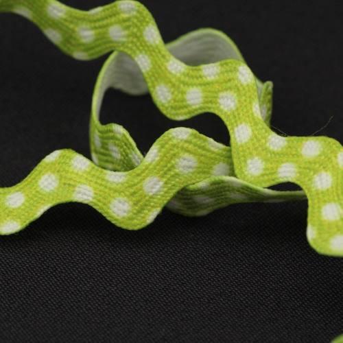 Croquet à pois 6 mm - Vert