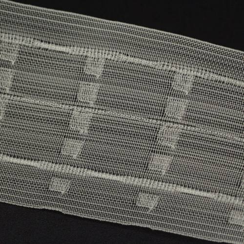 Ruban Fronceur transparent - 75mm