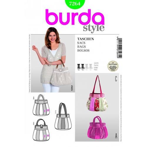 Patron N°7264 Burda Style : Sacs
