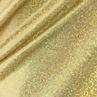 Lycra jaune clair micro pailleté