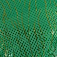 Lycra vert losange et paillette