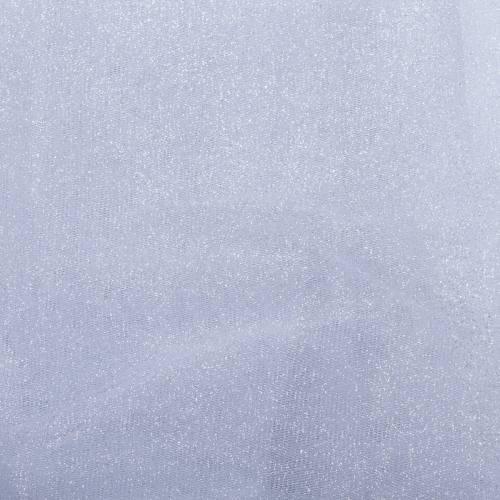 Tulle blanc paillettes 270cm