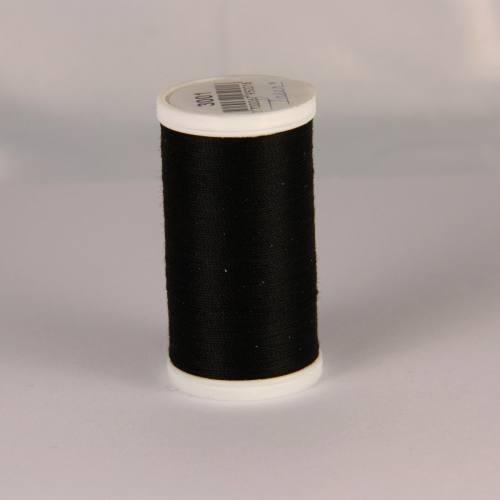 Bobine de fil cordonnet Laser 1201 - Noir