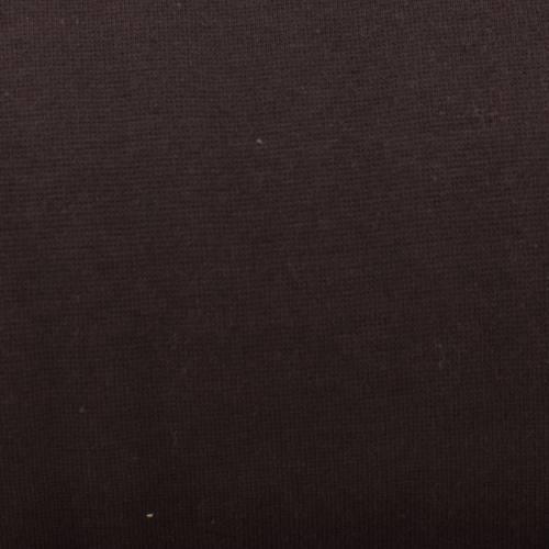 Tissu tubulaire bord-côte marron foncé