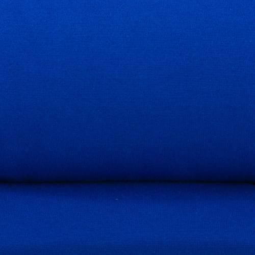 Tissu tubulaire bord-côte bleu roi