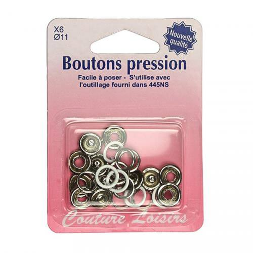 Recharge boutons pression x6