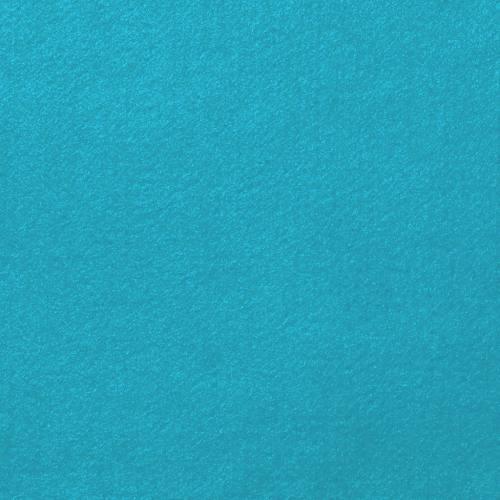 Feutrine bleue turquoise 91cm
