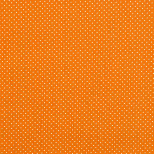 Coton orange à petit pois 1mm