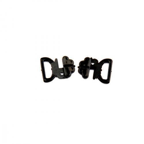Attache noire pour soutien gorge de maillot de bain