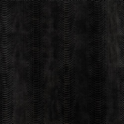 Simili cuir Dragon laqué noir