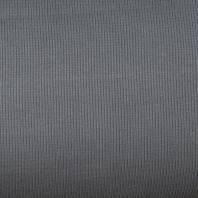 Tissu tubulaire bord-côte maille gris
