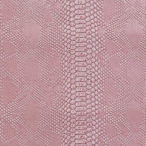 Simili cuir Dragon rose clair