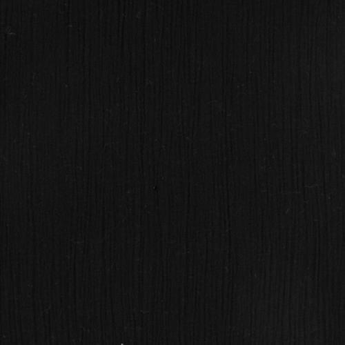Mousseline crépon noire