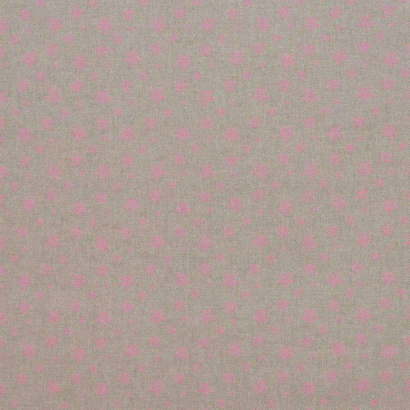 toile coton effet imprim 233 e 233 toiles roses tissus price