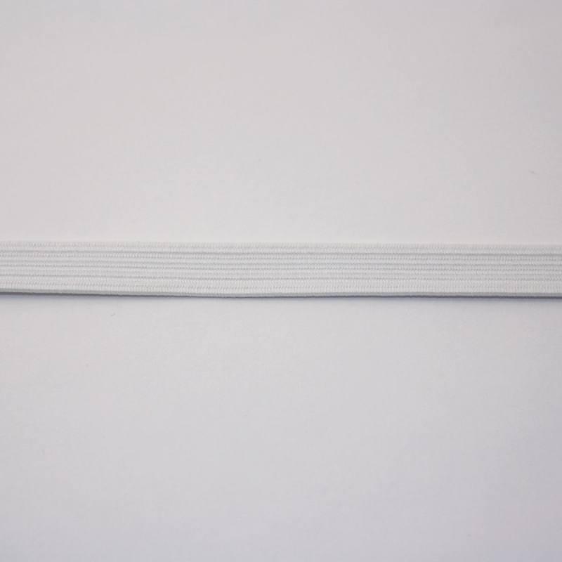 Elastique blanc 8 mm