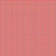 Coton vichy rouge 3 mm