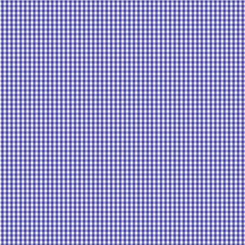 tissus coton vichy bleu roi 3 mm tissus au m tre tissu. Black Bedroom Furniture Sets. Home Design Ideas