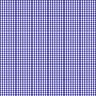 Coton vichy bleu roi 3 mm