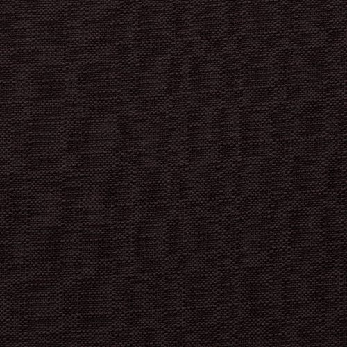 Toile polyester aspect lin prune