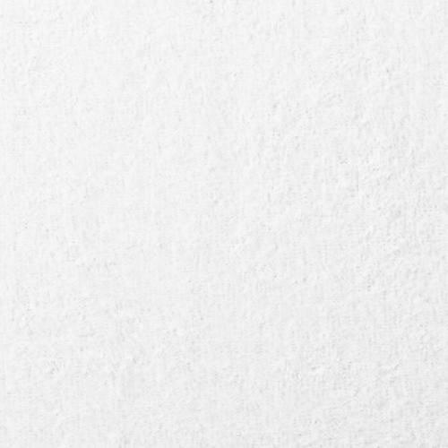 Tissu éponge blanc double face microfibre