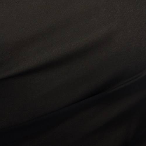 Mousseline unie Noire