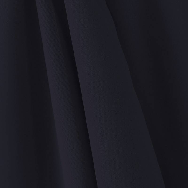 tissu occultant grande largeur bleu marine tissu au m tre. Black Bedroom Furniture Sets. Home Design Ideas