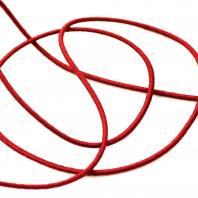 Cordon élastique 3 mm - rouge