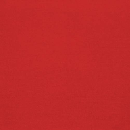 Coton 280 cm uni rouge