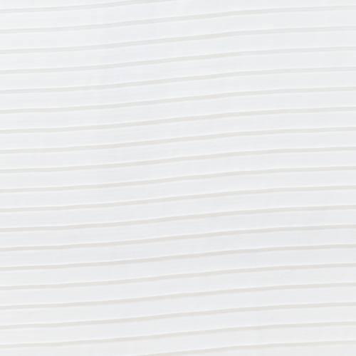 Voilage plissé Blanc
