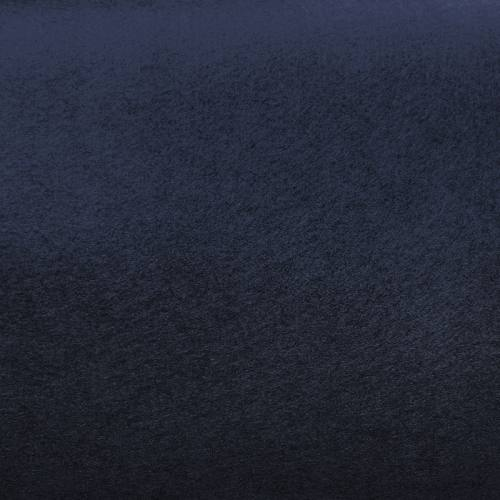 Feutrine rigide bleu marine