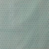 Coton bleu canard imprimé pétale de fleur