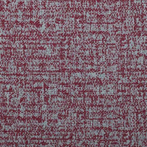 Jacquard rouge à effet velours