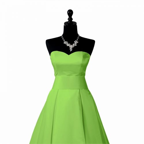 Satin uni vert clair 110cm