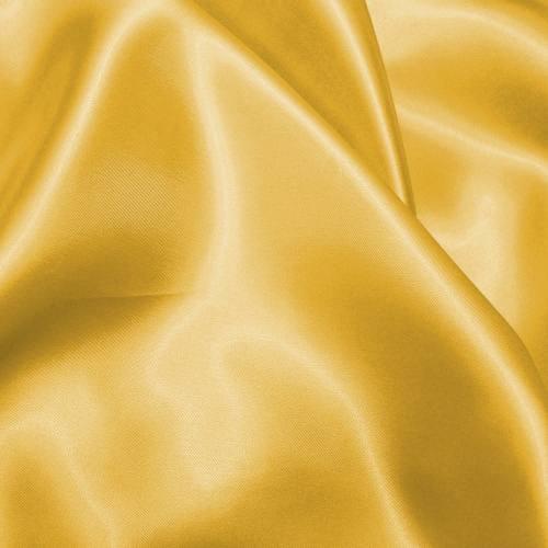 Satin uni jaune 110cm