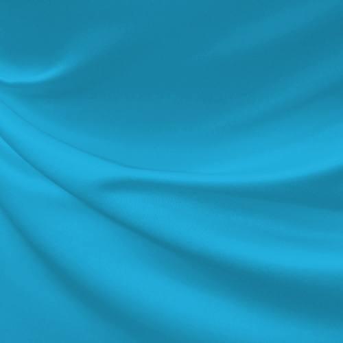 Satin duchesse turquoise