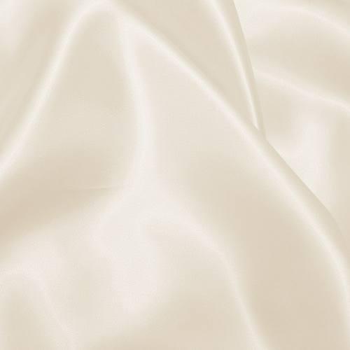 Satin uni ivoire 110cm