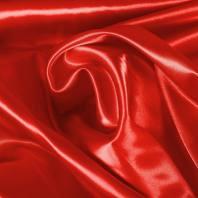 Satin extensible rouge