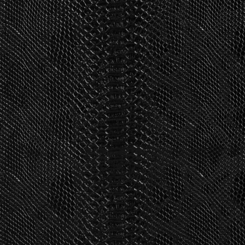 Simili cuir Dragon vernis noir