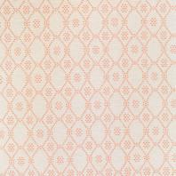 Jacquard motif losange corail