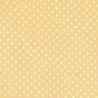 Popeline jaune pastel couronne