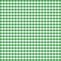 Coton vichy vert 10 mm