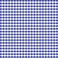 Coton vichy bleu roi 10 mm