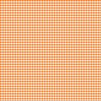 Coton vichy orange 5 mm