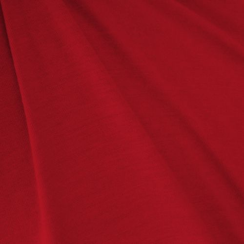 Jersey coton rouge