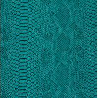 Coupon 50 x 70 cm de Simili cuir Dragon émeraude
