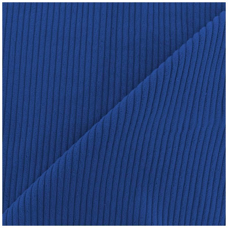Velours c tel bleu pas cher tissus price - Tissu suedine pas cher ...